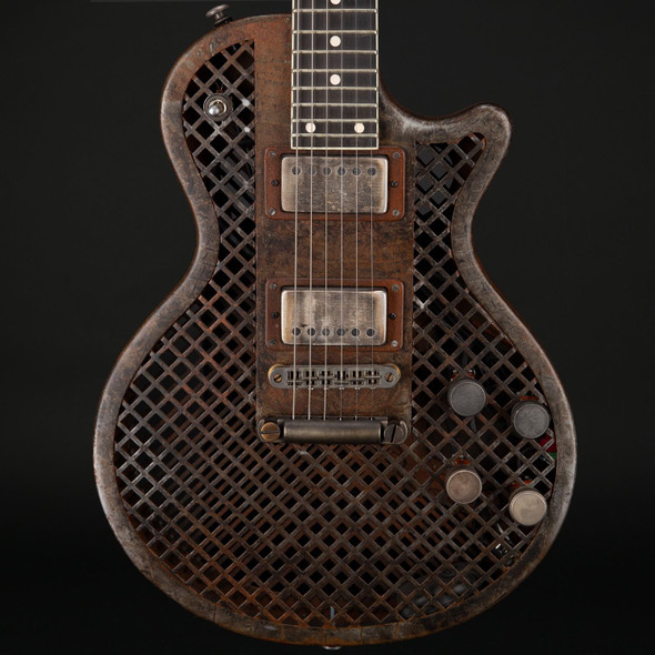 James Trussart SteelDeville Rust O Matic Cage Custom with EMG's #16021 - Pre-Owned