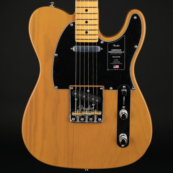 Fender American Professional II Telecaster, Maple in Butterscotch Blonde #US20092761