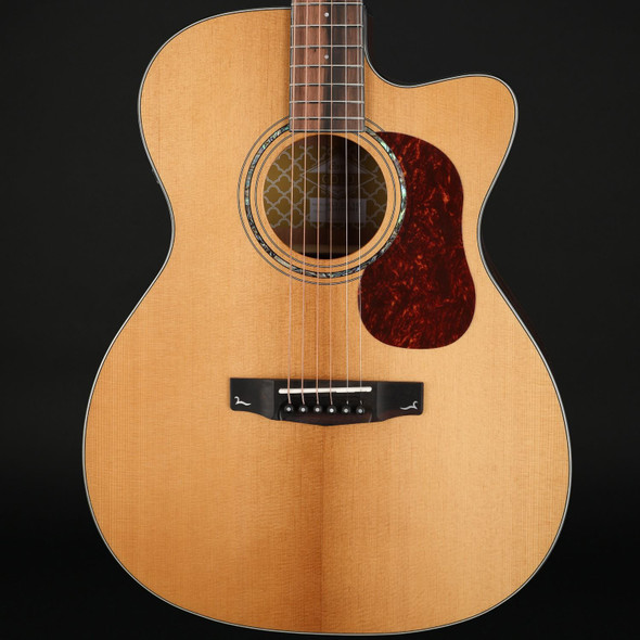 Cort Gold OC6 in Natural with Case