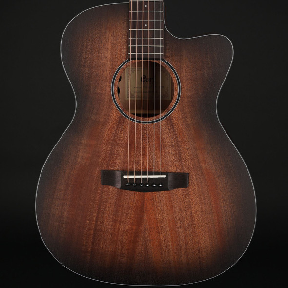 Cort Core-OC Mahogany Open Pore in Blackburst with Gig Bag