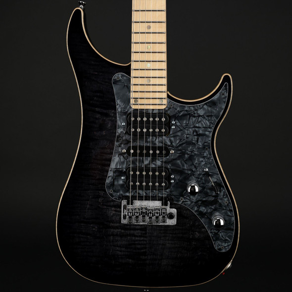 Vigier Excalibur Special in Mysterious Black, Maple with Case #160133 - Pre-Owned