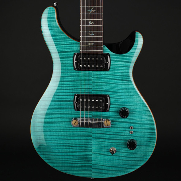 PRS SE Pauls Guitar in Aqua with Gig Bag #C59480