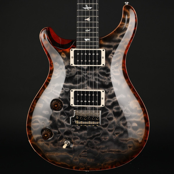 PRS Wood Library Custom 22 10-Top Left Handed in Burnt Maple Leaf #255614 - Pre-Owned