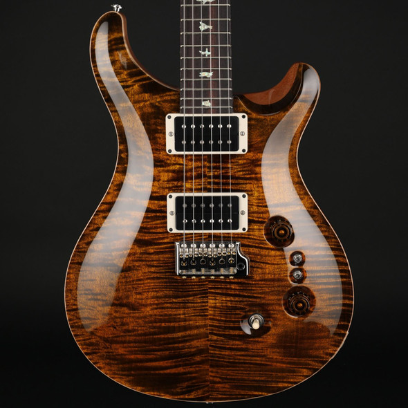 PRS Custom 24 35th Anniversary in Yellow Tiger with Pattern Thin Neck #0319859