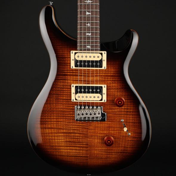 PRS SE Custom 24 in Black Gold Burst with Gig Bag #C47156