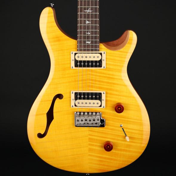 PRS SE Custom 22 Semi-Hollow in Santana Yellow #D06921