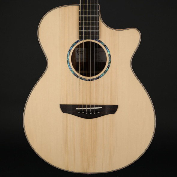 Faith Hi-Gloss Venus Electro Acoustic in Natural with Case #201242039