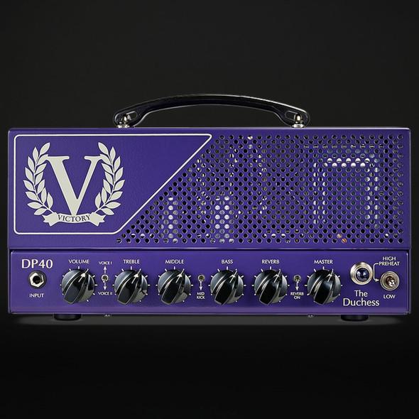 Victory DP40 Danish Pete Honore Signature V40 Duchess Head in Purple