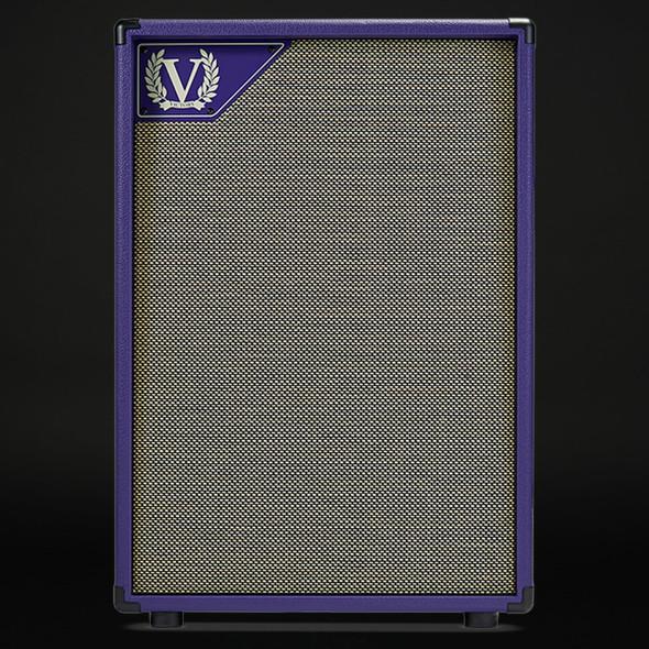 Victory V212-DP Danish Pete Signature 2x12 Cabinet in Purple