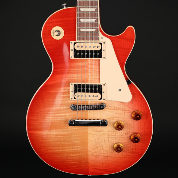 Gibson Les Paul Traditional Pro V AAA in Washed Cherry Burst #200610126
