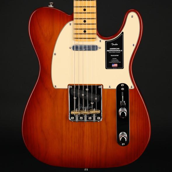 Fender American Professional II Telecaster, Maple in Sienna Sunburst #US210025255