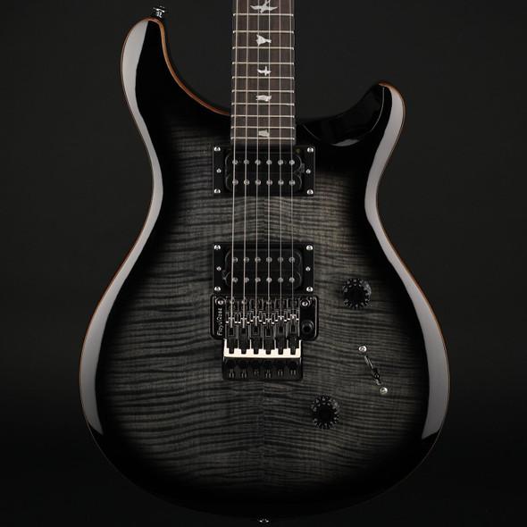 PRS SE Custom 24 Floyd in Charcoal Burst #D04295