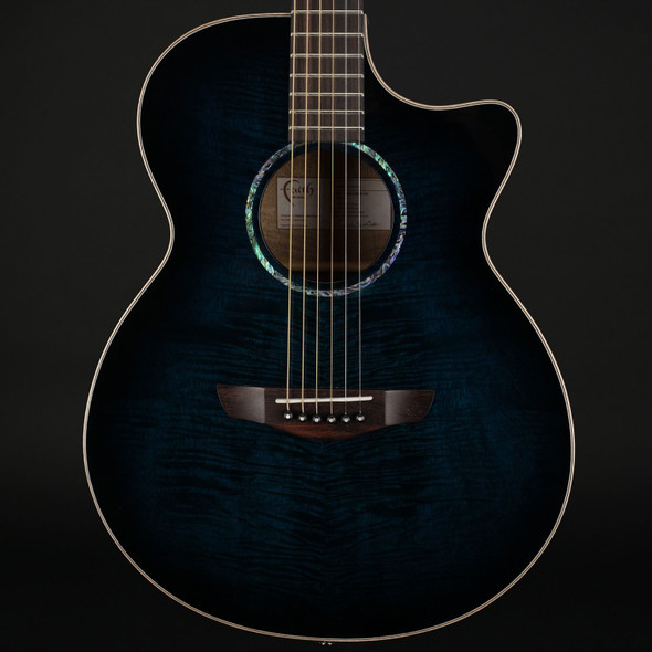 Faith Blue Moon Venus Cutaway Electro Acoustic with Case #210243142