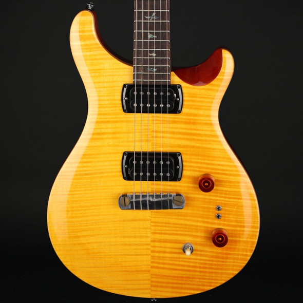 PRS SE Pauls Guitar in Amber with Tobacco Back #D14112
