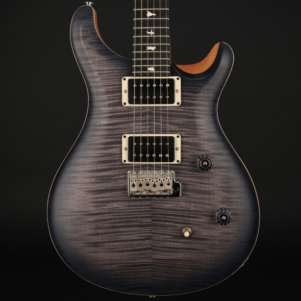 PRS CE24 Limited in Satin Faded Grey Black / Purple Burst, 85/15 Pickups, Pattern Thin Neck with Gigbag #239323 - Pre-Owned