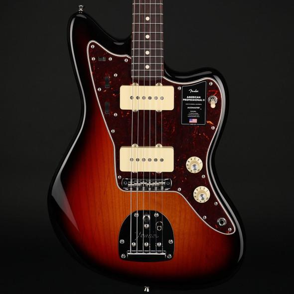 Fender American Professional II Jazzmaster, Rosewood Fingerboard in 3-Color Sunburst #US210012389A