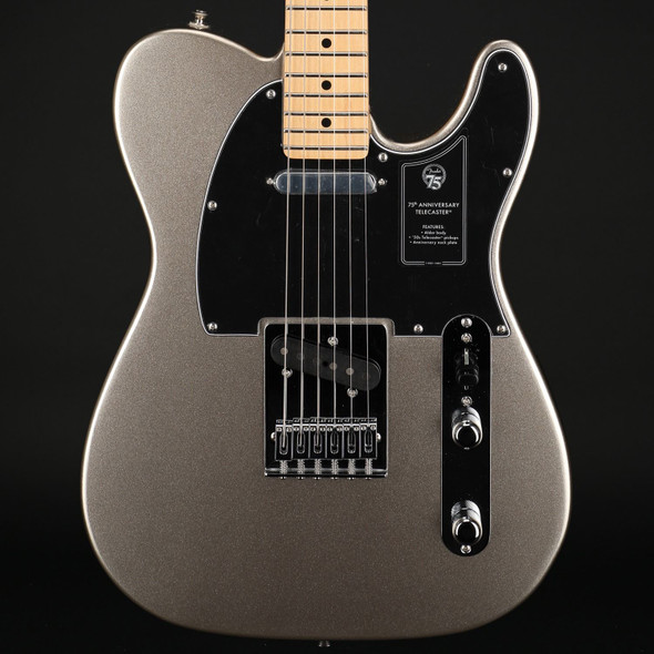 Fender 75th Anniversary Telecaster, Maple Fingerboard, Diamond Anniversary #MX21508848