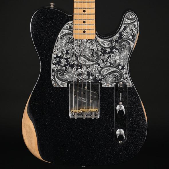 Fender Brad Paisley Esquire, Maple in Black Sparkle #MX20172983