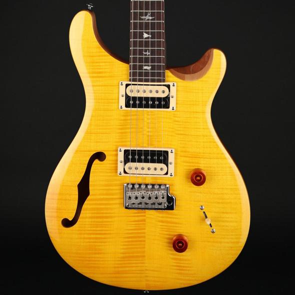 PRS SE Custom 22 Semi-Hollow in Santana Yellow #D12837