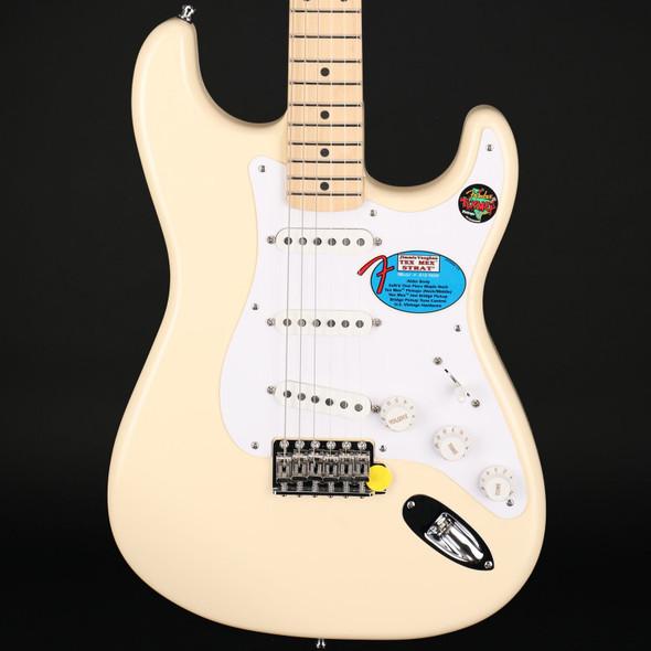 Fender Jimmie Vaughan Tex-Mex Strat, Maple Fingerboard in Olympic White