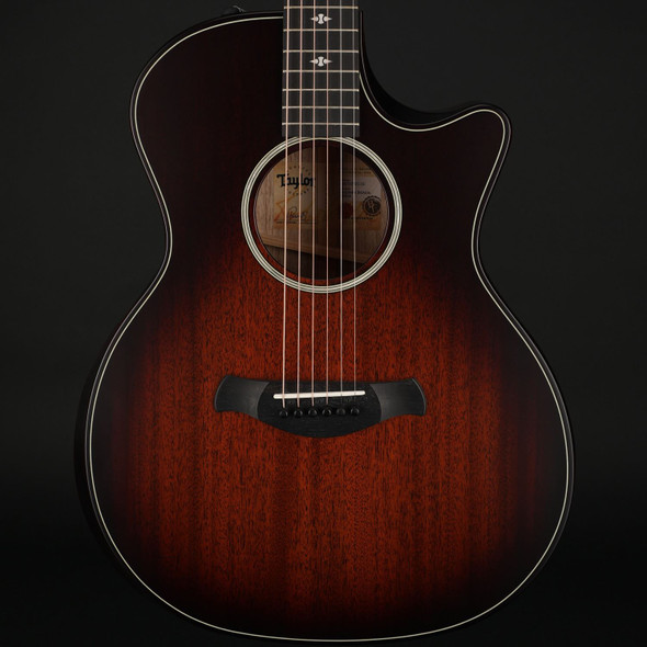Taylor 324ce Builder's Edition V-Class in Tobacco Kona Burst #1201070112 - Pre-Owned