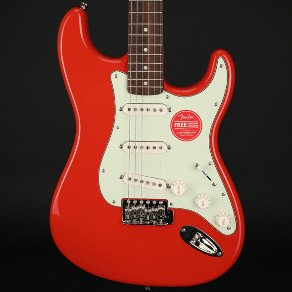 Squier Classic Vibe '60s Stratocaster Limited Edition, Laurel Fingerboard in Fiesta Red