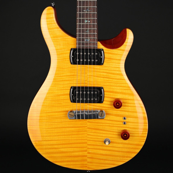 PRS SE Pauls Guitar in Amber with Tobacco Back #D17734