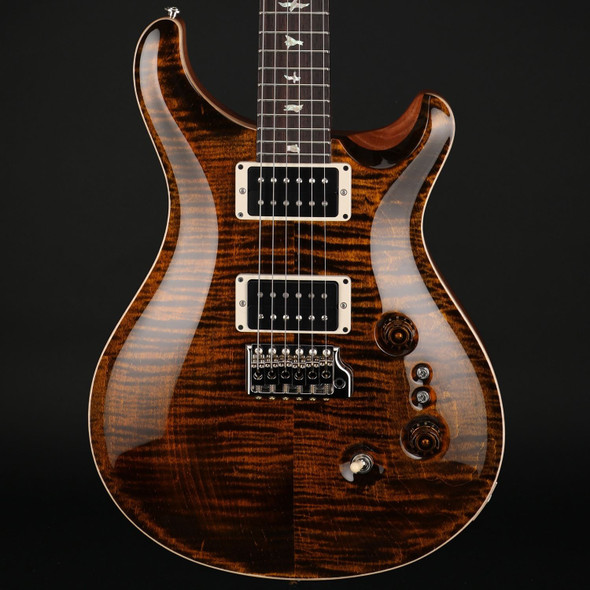 PRS Custom 24 35th Anniversary in Yellow Tiger with Pattern Thin Neck #0325377