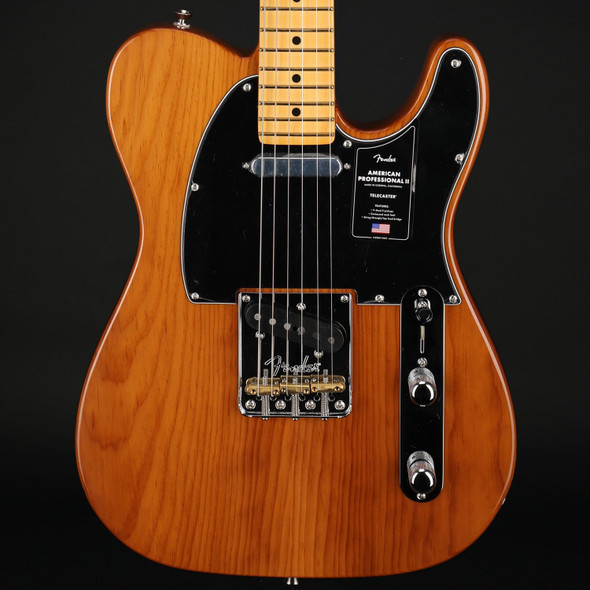 Fender American Professional II Telecaster, Maple Fingerboard in Roasted Pine #US210048757