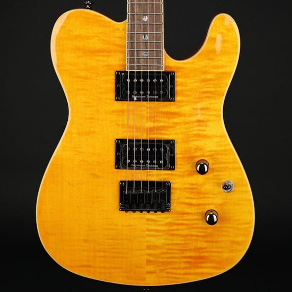 Fender Special Edition Custom Telecaster FMT HH, Laurel Fingerboard in Amber