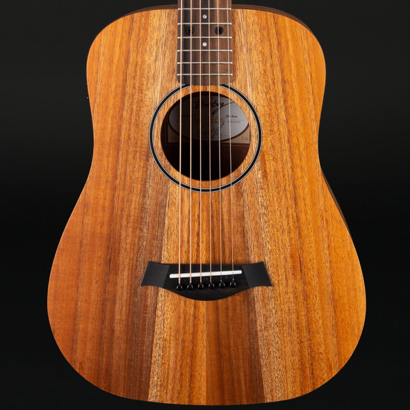Taylor BTe-Koa Baby Taylor Electro Acoustic Travel Guitar with Gigbag #2106149256 - Pre-Owned