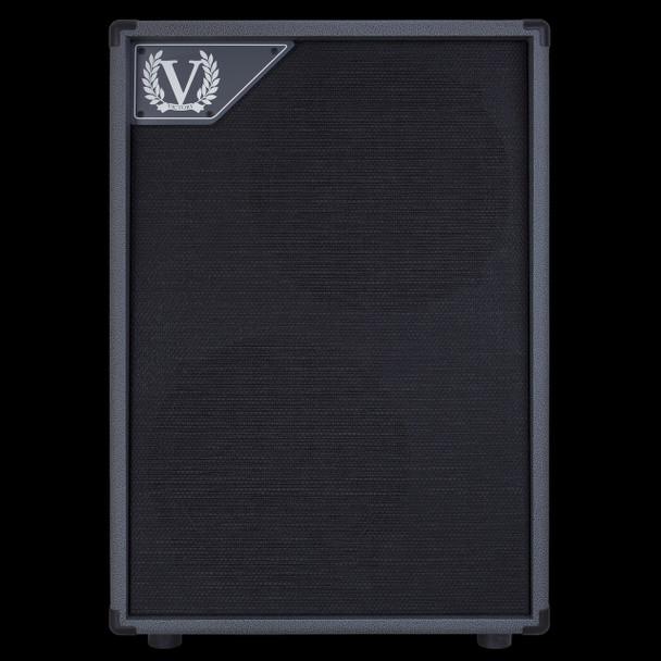 Victory V212VG 2x12 Closed Back Cabinet with 2x Celestion Vintage 30 in Grey for VX Kraken