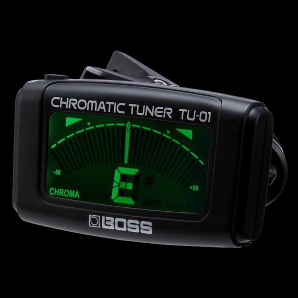 Boss TU-01 Clipon Tuner