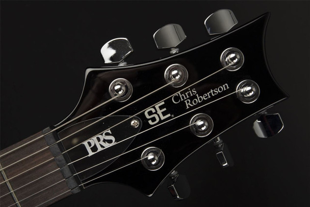 PRS SE Chris Robertson Signature in Black Stone Cherry Burst with Gigbag