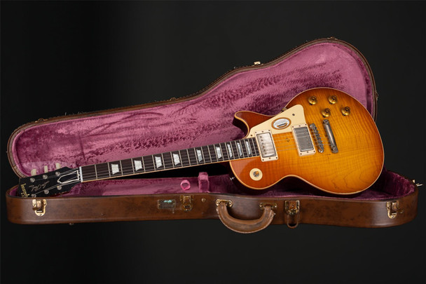 Gibson Custom Shop Mick Ralphs 1958 Les Paul Standard #8 7049 Replica #CC 43A 118
