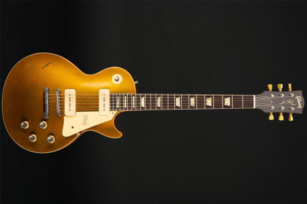 Gibson Custom Shop '68 Les Paul Heavy Aged Gold Top 50th Anniversary #084008
