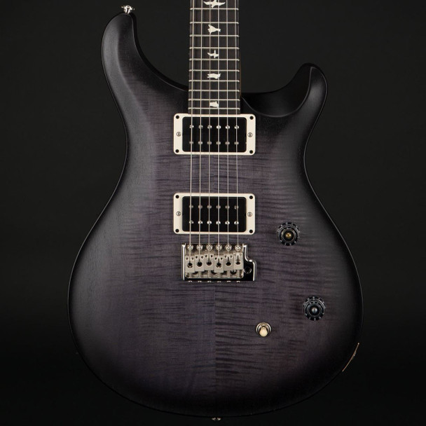 PRS CE24 Satin Nitro Finish Limited Edition in Faded Grey Smokeburst #271470