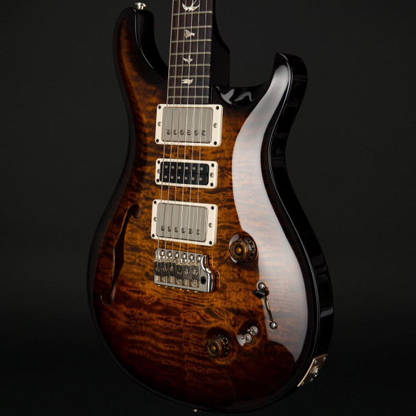 PRS Special 22 Semi-Hollow Limited Edition in Black Goldburst #271491