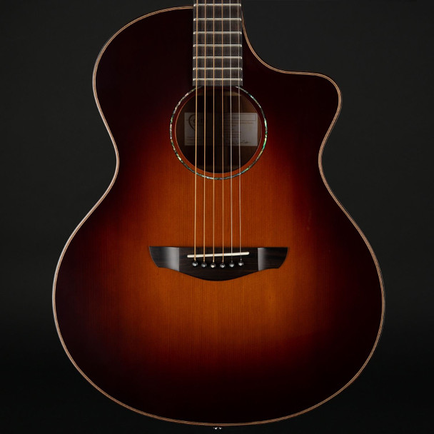 Faith Neptune Classic Burst Cutaway Electro Acoustic 45mm Nut with Case