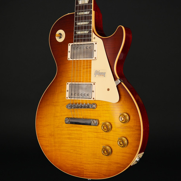 Gibson Custom Shop 60th Anniversary 1959 Les Paul Standard VOS in Slow Iced Tea Fade #991188