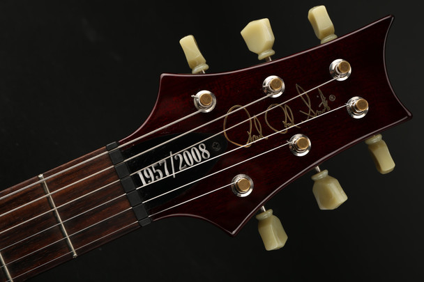 PRS McCarty 1957/2008 10 Top Quilt Signed/Numbered Limited Edition in Cranberry #141296 - Pre-Owned