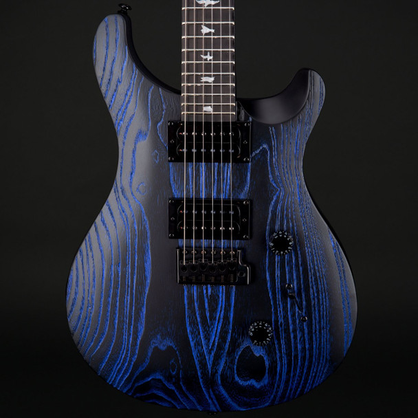 PRS SE Custom 24 Swamp Ash Sandblasted in Indigo #T13961