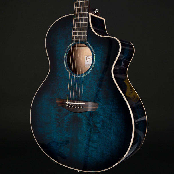Faith Blue Moon Neptune Cutaway Electro Acoustic with Case