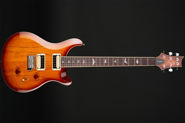 PRS SE Custom 24 in Spalted Maple/Vintage Sunburst #T08787