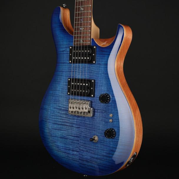 PRS SE Custom 24 35th Anniversary in Faded Blue Burst #C15303