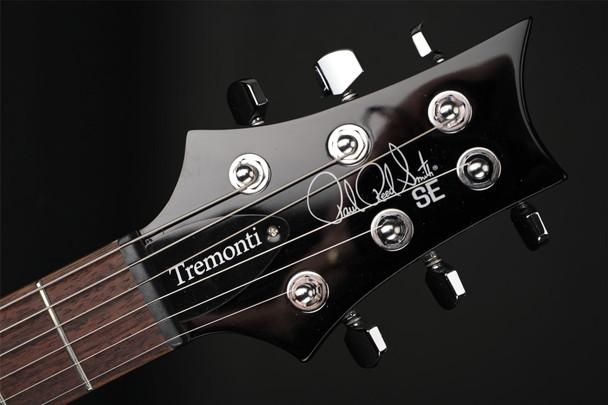 PRS SE Tremonti in Charcoal Burst #C43694