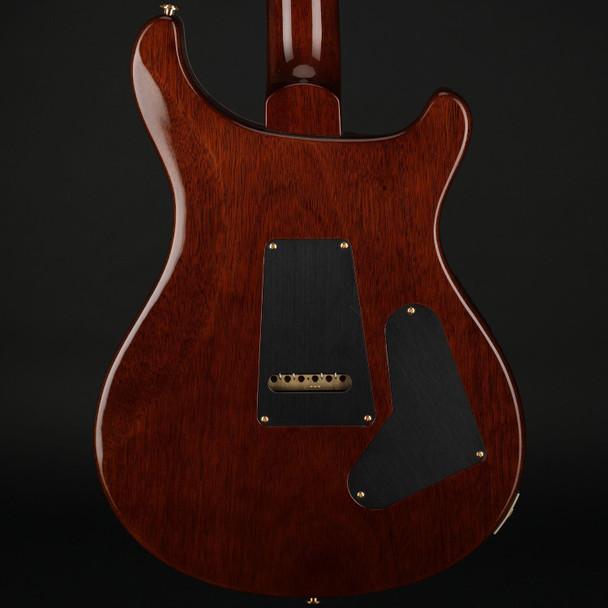 PRS Wood Library Custom 24 10-Top Left Handed in Copperhead Burst, Ziricote Fingerboard #0309494