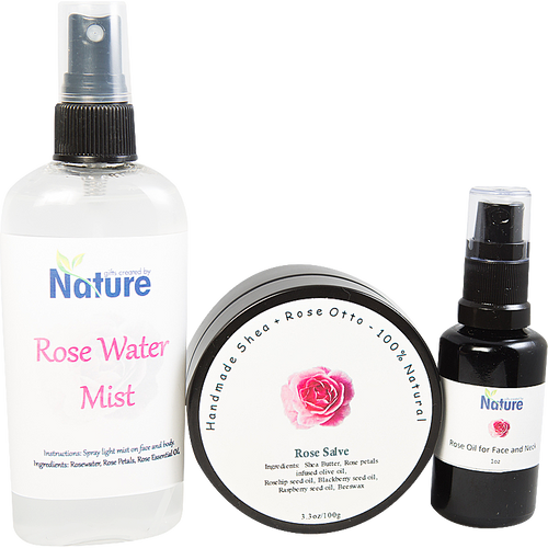 Rose Essential Oil Set