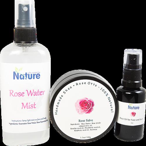 Rose Essential Oil Set