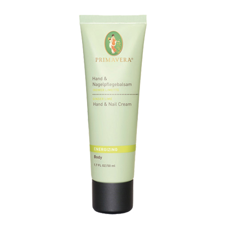 Energizing Hand & Nail Cream- Ginger Lime